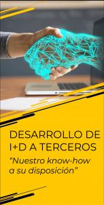 Desarrollo de I+D a terceros - Nuestro know-how a su disposición