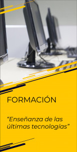 Formación - Enseñanza de las nuevas tecnologías